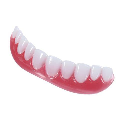 snap on smile hot water smile cosmetic oral teeth veneers false tooth cover dental