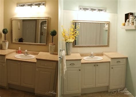 bathrooms before and after main bathroom before after northern nester