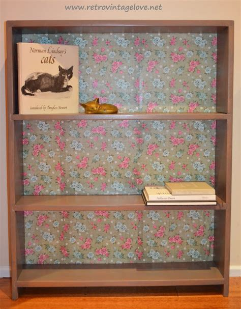 Decoupage Shelves - retro vintage how to decoupage tutorial a shabby