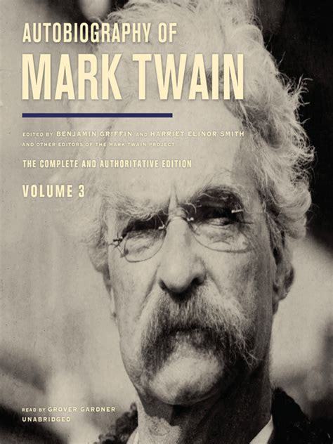 mark twain biography for students autobiography of mark twain volume 3 clevnet overdrive