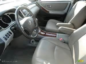 2008 Toyota Highlander Interior 2004 Toyota Highlander Limited V6 Interior Photo 38742572