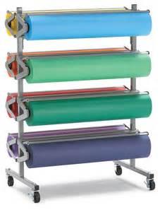 portable rola rack paper roll cutters blick materials