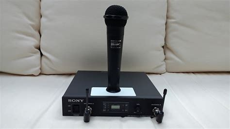 Waireless Microphone Uhf 800 Sony Uhf Wireless Tuner Wrr 800 Wrt 800a Wireless Mic