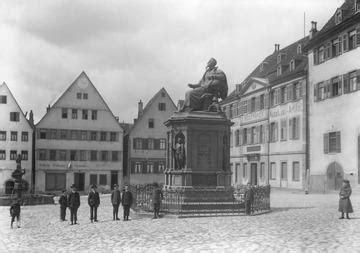 bw bank weil der stadt weil der stadt marktplatz mit keplerdenkmal 1910
