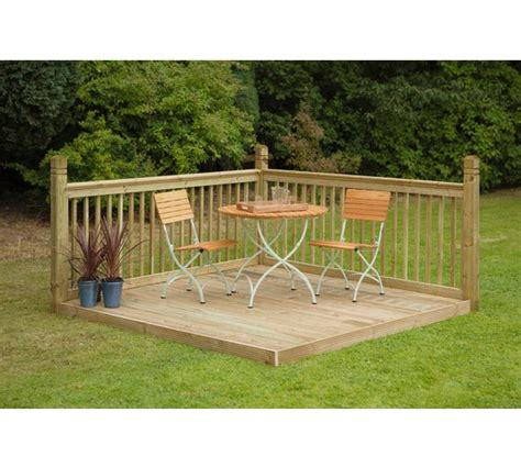 Instant Patio by Buy Forest Instant Patio Deck Kit At Argos Co Uk Your