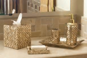 Nautical Bathroom Accessories Sets Luxury Bathroom Accessories Set 6 Bath Accessory Set Nautical Bathroom Capiz Bathroom