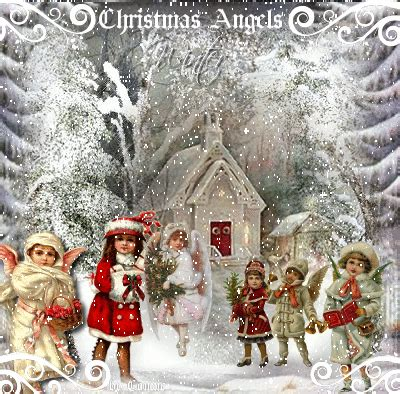 winter angels picture  blingeecom