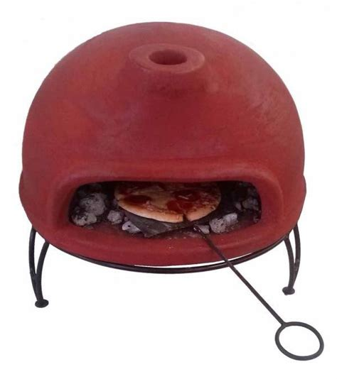 table small pizza table top clay pizza oven with stand savvysurf co uk