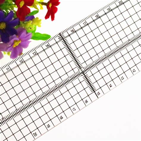 Patchwork Ruler - 2015 new 1 patchwork regulation cutting ruler metal
