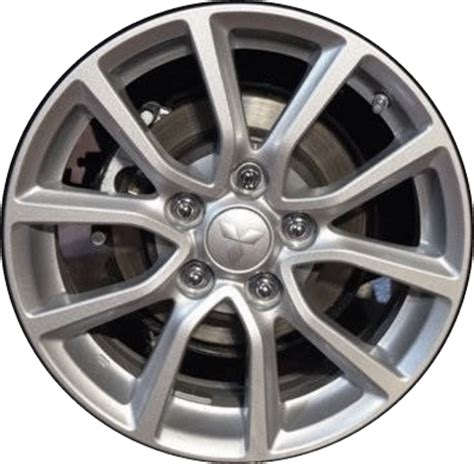 silver mitsubishi lancer black rims mitsubishi lancer wheels rims wheel rim stock oem replacement