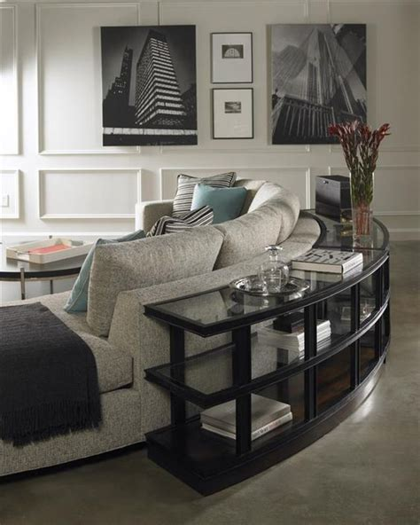 Sofa Back Table by The Sofa Table From Vanguard Furniture Family