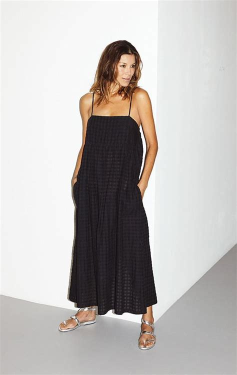 Grid Dress Sm 786519 Two New York Black Grid Bandeau Dress Garmentory