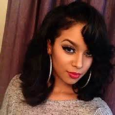 black women shoulder length hair images short
