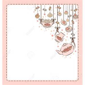 cup of tea and cake clipart 75