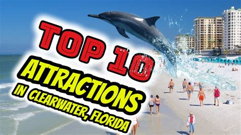 10 Cool Attractions In Florida by Top 10 Attractions In Clearwater Florida