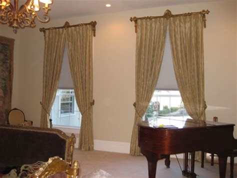 curtains for tall windows window treatments for tall windows living room traditional