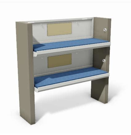 Two Tier Fixed Bunk Varivane Tier Bunk Beds
