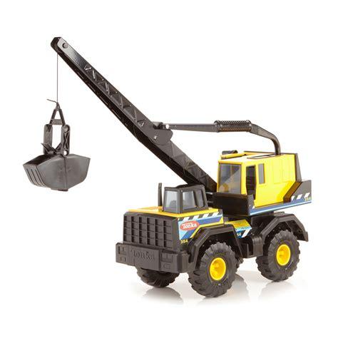 tonka steel toys funrise tonka steel classic mighty crane
