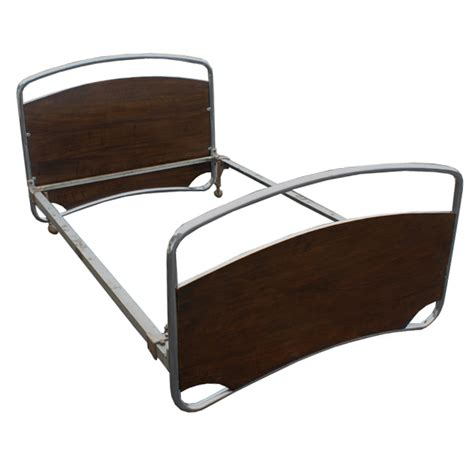 Midcentury Retro Style Modern Architectural Vintage Retro Bed Frame