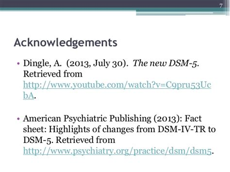 dsm 5 sections the dsm 5 overview of main themes and diagnostic revisions