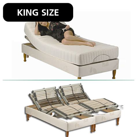 adjustable king size bed with pocket sprung mattress adjustable beds complete care shop
