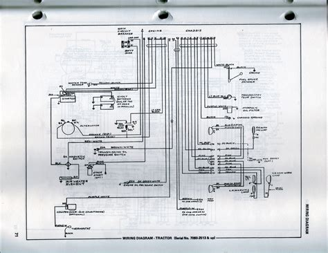 7060 allis chalmers wiring diagrams wiring diagrams