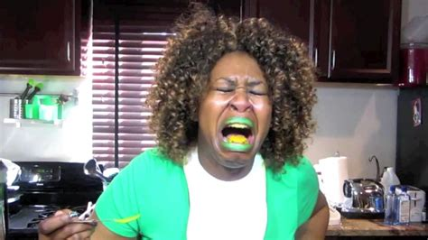 glozell green pepper challenge glozell s baby food challenge remix 1
