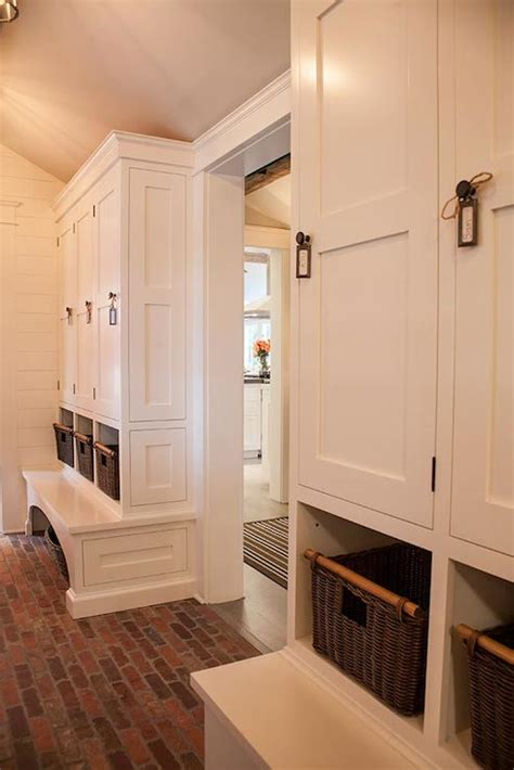 mudroom floor ideas brick floor cottage laundry room smith river