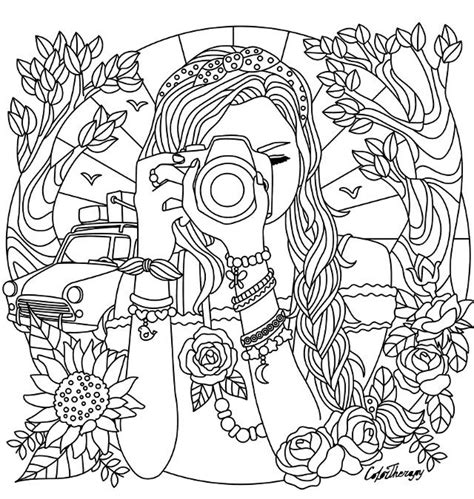 coloring pages for adults girl 1785 best girl fairy coloring pages images on pinterest