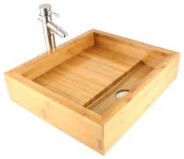 Bathroom Vessel Sink Countertop Bamboo Countertop Bathroom Lavatory Vessel Sink
