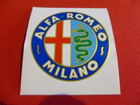 Alfa Aufkleber Shop by Alfa Romeo Aufkleber Quot Alfa Romeo Emblem Quot 65 Mm