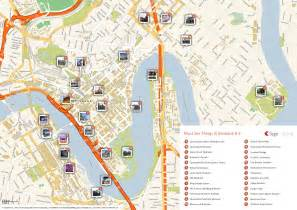 map world brisbane map of brisbane attractions tripomatic