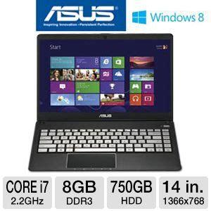 Asus Notebook Q400a Bhi7n03 asus q400a bhi7n03 notebook pc 3rd generation intel i7 3632qm 2 2ghz 8gb ddr3 750gb hdd