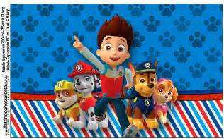 paw patrol free printable candy bar labels parties free cute