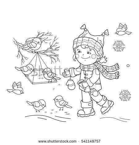 coloring pages of winter birds winter bird feeder coloring page coloring pages