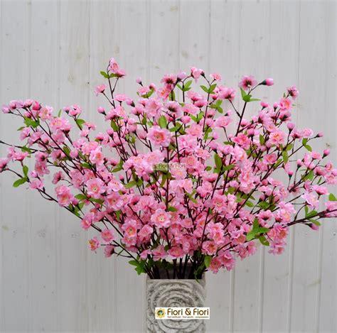 fiori di pesco fiore di pesco artificiale per decorazioni sia da interno