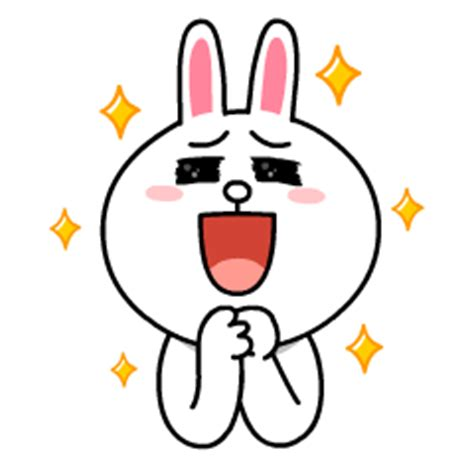 Kaos Line Emoticon Cony 1 Oceanseven line characters all the by line