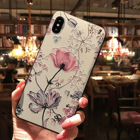 emboss flower case  samsung galaxy