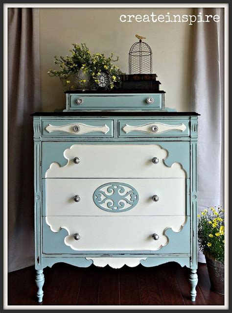 vintage painted furniture shabby chic
