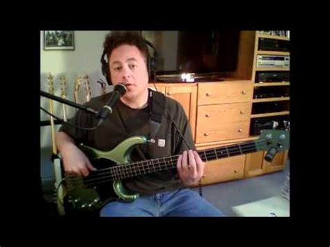 youtube tutorial bass wild night mellenc bass tutorial lesson verse youtube