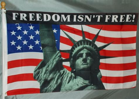 Topi Trucket Freedom Usa Co freedom isn t free usa 3x5 flag new statue of liberty american flag freedom ebay