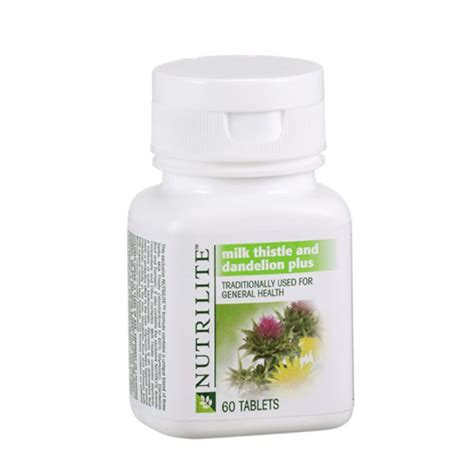 Amway Nutrilite Detox by Amway Nutrilite Milk Thistle And Dandelion Plus I