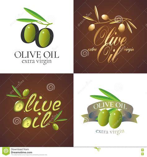 Olive Oil Label Template Vector Illustration Cartoondealer Com 20952814 Olive Labels Templates