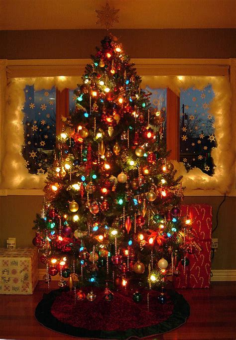 lights on the christmas tree pictures photos and images