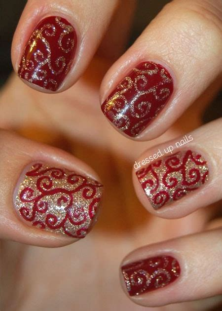 images of christmas nails 20 easy simple christmas nail art designs ideas