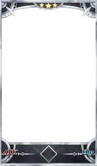 Fate Go Card Template by 페이트 그랜드 오더 시뮬레이터 헝그리앱