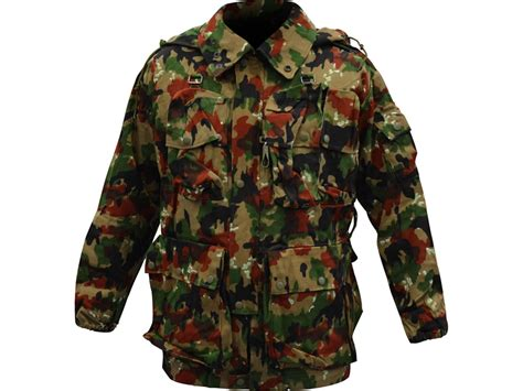 swiss surplus surplus swiss m70 field jacket swiss camo