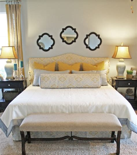 mirror above headboard love the mirrors above the headboard home pinterest