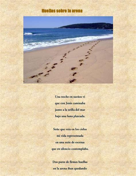 imagenes de dios huellas en la arena huellas sobre la arena