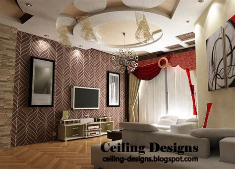 Living Room Gypsum Ceiling by Creative Gypsum Ceiling Design For Living Room